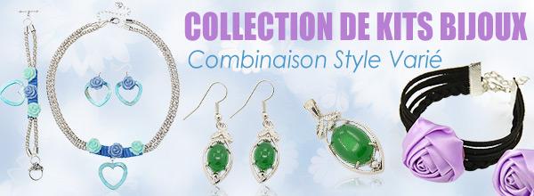 Collection De Kits bijoux Combinaison De Style Varié