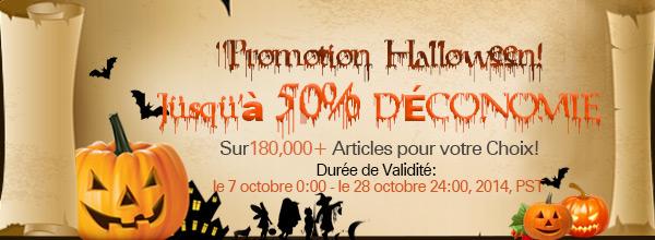 Promotion Halloween! Jusqu'à 50% D'ÉCONOMIE sur