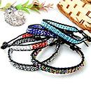 Bracelets de perles de cire
