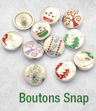 Boutons Snap