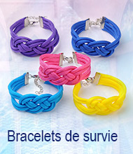 Bracelets de survie