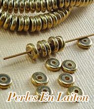 Perles En Laiton