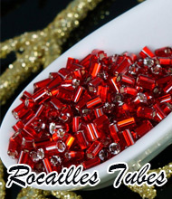 Rocailles Tubes