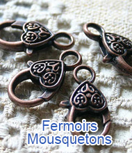 Fermoirs Mousquetons