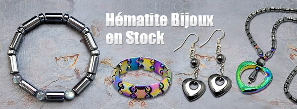 Hématite Bijoux en Stock