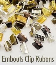 Embouts Clip Rubans