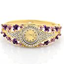 Fleur zinc bracelets de montres en alliage