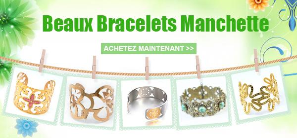 Belle Manchette Bracelets