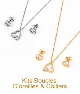 Kits Boucles D'oreilles & Colliers