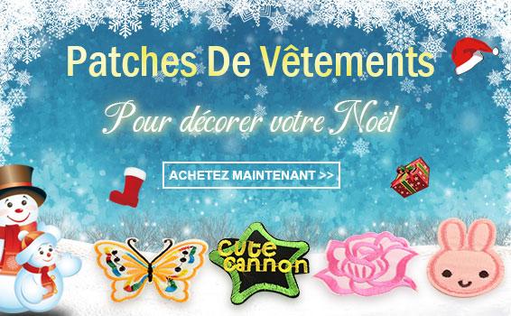 Patches De Vêtements Pour décorer votre Noël