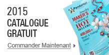 2015 Catalogue gratuit