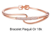 Bracelet Plaqué Or 18k
