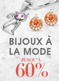 Bijoux à La Mode Solde: Jusqu'à 60%