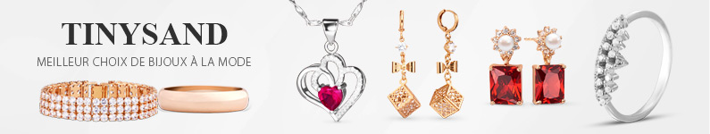 Tinysand Meilleur choix de bijoux à la mode